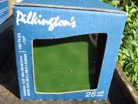 Genuine Pilkington Wall tiles BNIB x50 Victorian Green 100mns x 100mns High Glaze