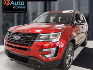 2016 Ford Explorer Sport4WD ecoboost with NAV, dual moonroof, he