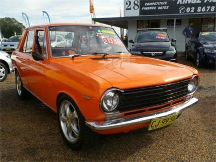 1968 Datsun 1000 Deluxe Orange 3 Speed Manual Sedan Mount Druitt Blacktown Area Preview