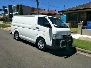 2008 Toyota HiAce TRH201R MY08 LWB 4 Speed Automatic Van