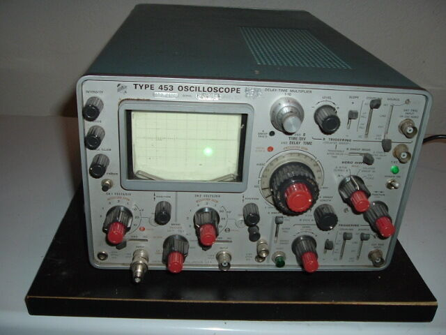 Tektronix Two Channel Oscilloscope Type 453