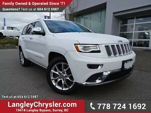 2016 Jeep Grand Cherokee Summit ACCIDENT FREE w/ LEATHER, NAV...