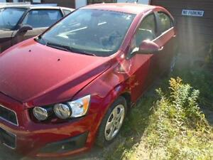 2012 Chevrolet Sonic LS Re-Builder