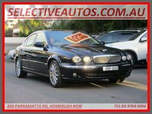 2007 Jaguar X-Type MY06 2.1 V6 LE Black 5 Speed Automatic Sedan Homebush Strathfield Area Preview