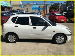 2004 Daihatsu Sirion M100RS White 4 Speed Automatic Hatchback