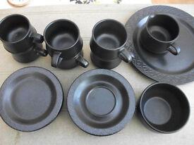6 x Coffee set