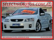 2009 Holden Commodore VE MY09.5 SS White 6 Speed Automatic Utility Homebush Strathfield Area Preview