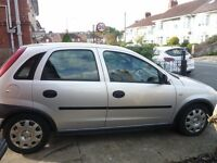Vauxhall Corsa 2002 1.2 5 Door 12 Months MOT
