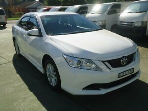 2016 Toyota Aurion GSV50R MY16 AT-X White 6 Speed Automatic Sedan Five Dock Canada Bay Area Preview