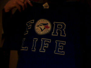 Men's Toronto Blue Jay's T-Shirt (Extra-Large) & Hats