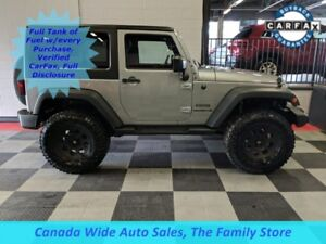 2015 Jeep Wrangler 4X4 Sport, Lifted w/ Wheels and Tires