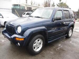2002 Jeep Liberty Limitée ( PROPRE - ROULE BIEN )