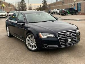 2014 Audi A8 L TDI | AWD | DIESEL | MASSAGE | NAV | CAMERA |