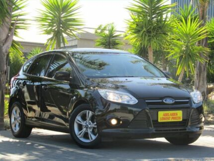 2014 Ford Focus LW MKII Trend PwrShift Black 6 Speed Sports Automatic Dual Clutch Hatchback Morphett Vale Morphett Vale Area Preview
