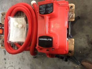 New, Homelite P100 Waterbug, Gas powered water pump