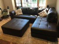 Sofa sectionnel (COMME NEUF) // Sectional couch (LIKE NEW)