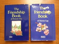 4 x The Friendship Book of Francis Gay - All With Dust Covers - Good Condition