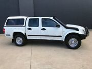 2003 Holden Rodeo RA LX Utility Crew Cab 4dr Man 5sp 4x4 1020kg 3.0DT White Manual Utility Villawood Bankstown Area Preview