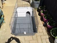 large ferplast guinea pig cage