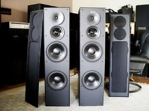 nuance HOME THEATER POWERED TOWER SPEAKERS Edmonton Edmonton Area image 1