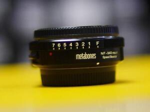 Metabones Nikon G / F  to Micro 4/3 Speedbooster