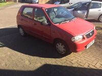 Am sell my car Suzuki alto very good condition briliant drive Clean car new .mot