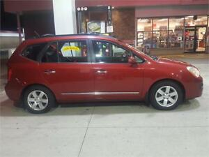2008 KIA RONDO EX 7 PASSENGER DVD HEATED SEATS..NEW TIMING CHAIN