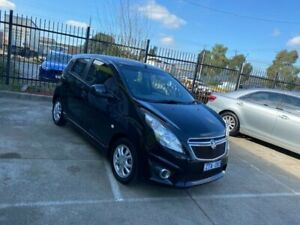 2013 Holden Barina Spark MJ MY13 CD Black 4 Speed Automatic Hatchback Epping Whittlesea Area Preview