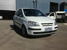 2003 Hyundai Getz TB GL White 4 Speed Automatic Hatchback Spotswood Hobsons Bay Area Preview