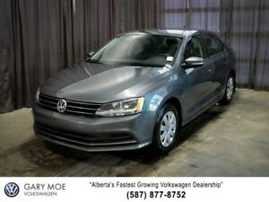 2015 Volkswagen Jetta Sedan Trendline Plus with sunroof!