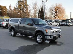 2009 FORD F-150 XLT EXT CAB 6.5 FT BOX 4X4 CANOPY
