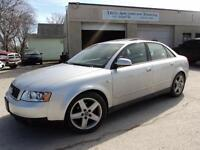 2002 AUDI A4 QUATTRO-SUNROOF-LEATHER-LOADED-AUTO-ALLOYS