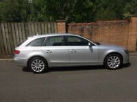 Silver Audi A4 Avant SE Executive 2.0 TDi - 59 Plate - 1 Owner from new