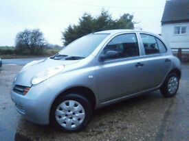0454 NISSAN MICRA 1.2 16v S AUTOMATIC 5DR HATCH 66K FSH 9 STAMPS SILVER SUPERB