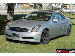 2004 Infiniti G35 Coupe Automatic Sunroof Leather