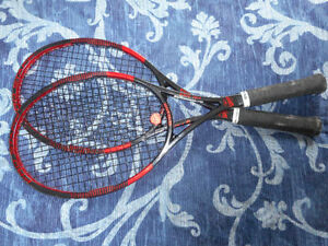 Wilson limited edition pro staff 2 racquets and a bag