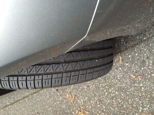 Dunlop All Season Tires - 215/45 R18 - LIKE NEW! North Shore Greater Vancouver Area image 1