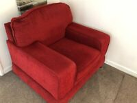Free to collector Very Comfortable fabric armchair