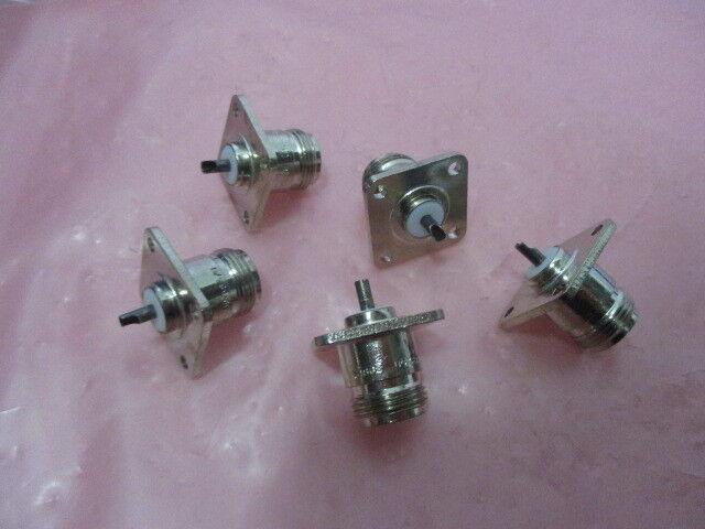 5 UG-58/U Type N Femal Panel Mount Coaxial Connector, 450236