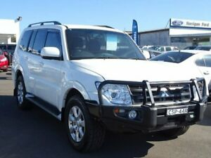 2014 Mitsubishi Pajero NW MY14 GLX-R White 5 Speed Sports Automatic Wagon Albion Park Rail Shellharbour Area Preview