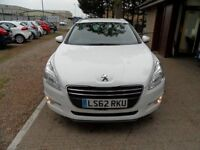 PEUGEOT 508 2.0 SR SW HDI 5d AUTO 163 BHP 1 OWNER FROM NEW, 2 (white) 2012