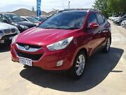 2011 Hyundai ix35 LM MY11 Highlander AWD Red 6 Speed Sports Automatic Wagon St James Victoria Park Area Preview