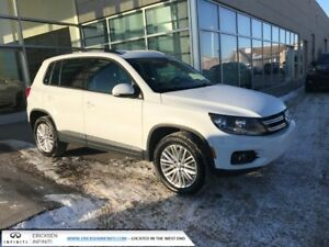 2016 Volkswagen Tiguan ALL WHEEL DRIVE/HEATED SEATS/ACCIDENT FRE