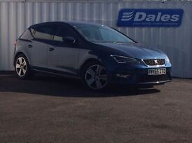 Seat Leon 1.4 Ecotsi 150 FR 5Dr [technology Pack] Hatchback (apollo blue) 2015