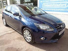 Ford Focus 1.6TDCi ( 115ps ) 2011 Titanium F/S/H 1 former keeper P/X