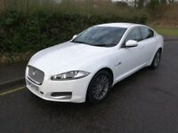 Jaguar XF Diesel - White - Immaculate Condition with low mileage - Automatic