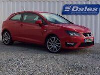 Seat Ibiza 1.2 TSI FR 3Dr DSG Hatchback (red) 2013