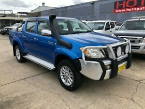 2006 Toyota Hilux GGN25R MY07 SR5 Blue 5 Speed Automatic Utility Granville Parramatta Area Preview