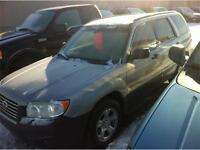 2003 Subaru Forester X AWD ONLY $91 b/w*