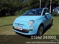 FIAT 500 LOUNGE, Blue, Manual, Petrol, 2011